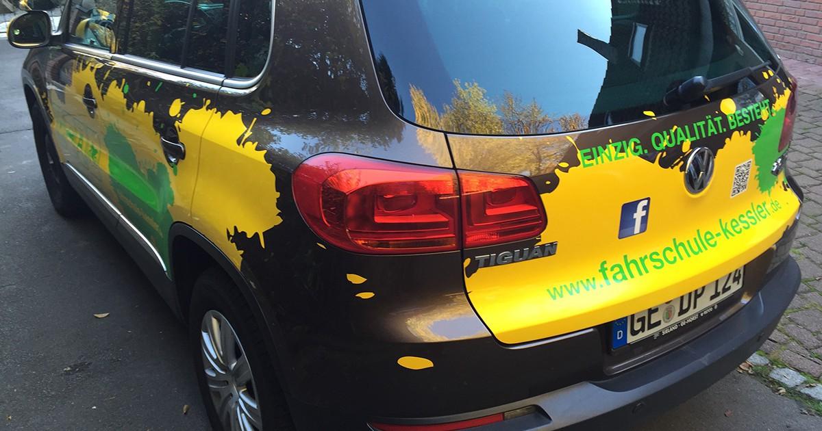 disigns - Fahrschule Kessler - Neuer Fuhrpark - Foliebeklebung - Autobeklebung